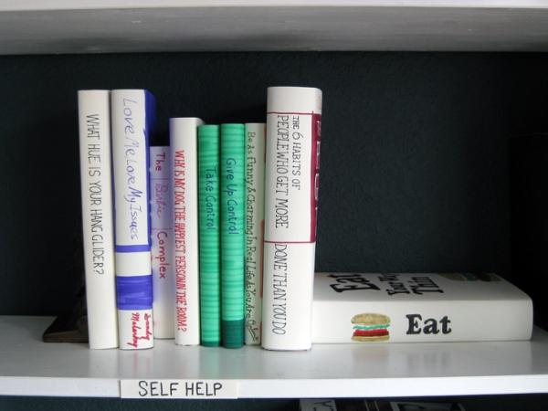 self help shelf