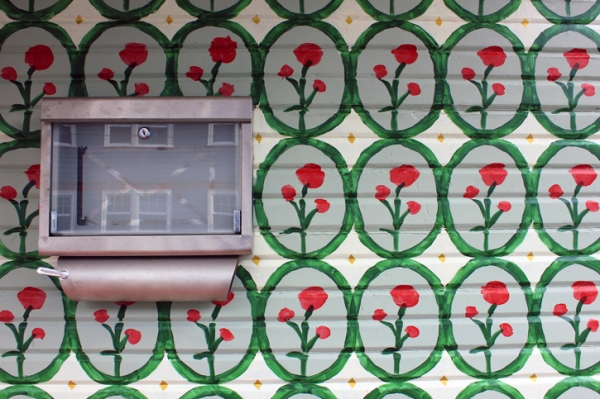 wallpaper house paint