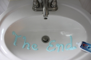 toothpaste the end