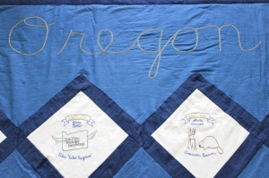 oregon quilt embrodery