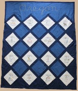 oregon state symbols quilt
