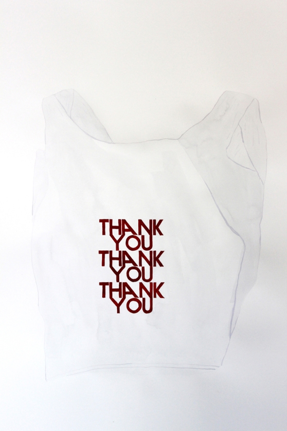thank you thank you thank you bag