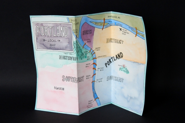 paper local map