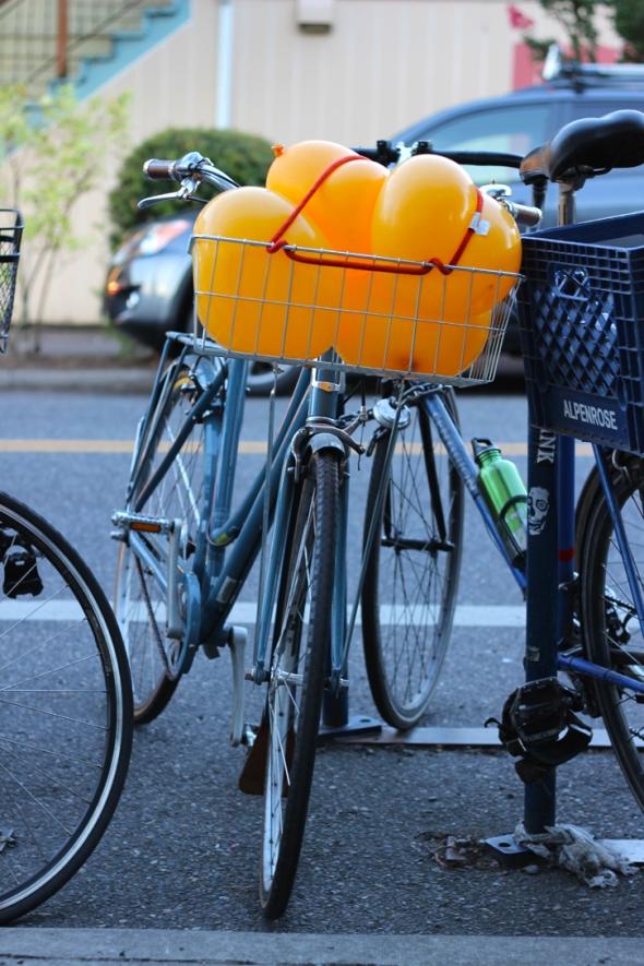 balloon bike basket