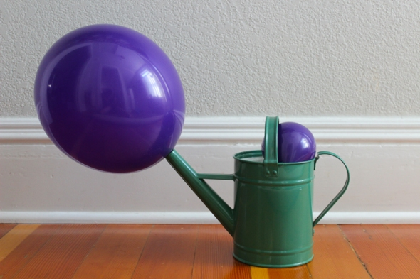 balloon watering can