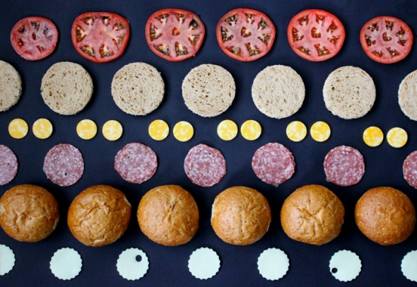 sandwich dots