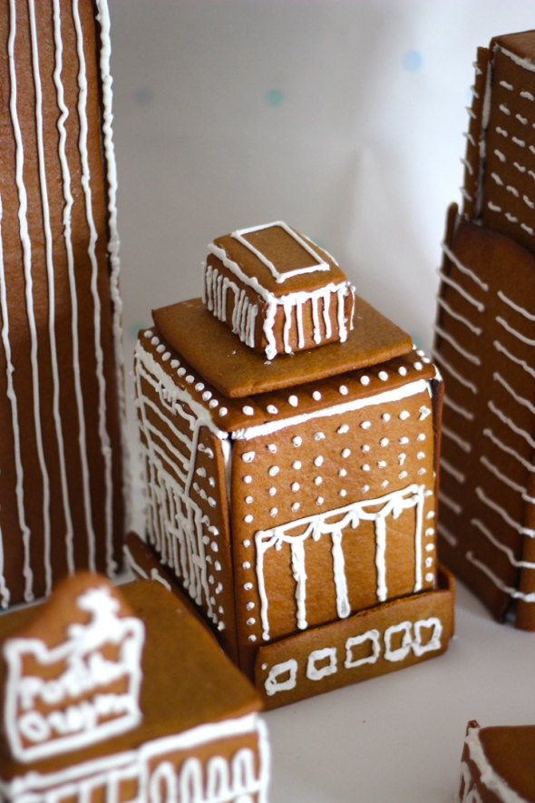 gingerbread portland building