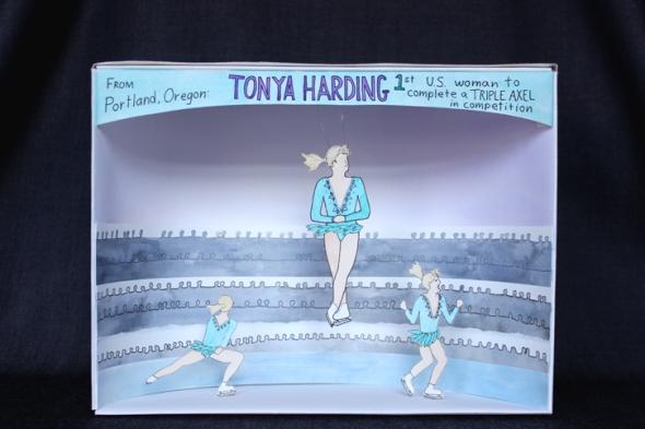 tonya harding diorama