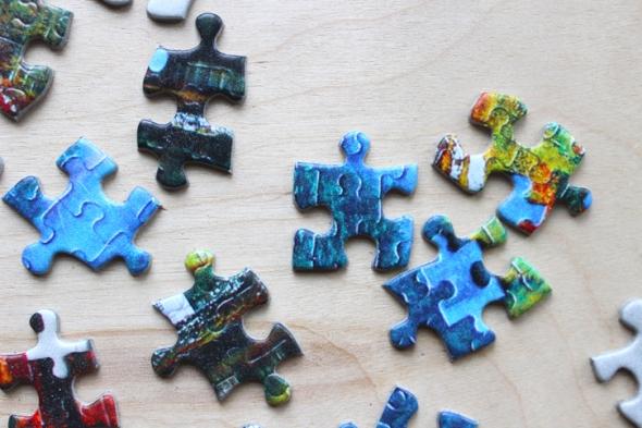 puzzle puzzle pieces