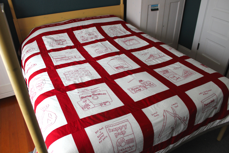 emergency preparedness quilt