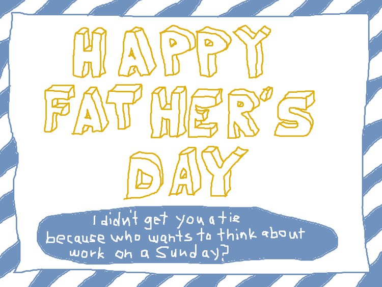 Happy fathers day ms paint greeting card low commitment projects happy fathers day ms paint greeting card m4hsunfo