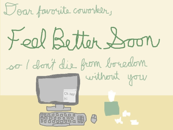 feel better soon ms paint greeting card
