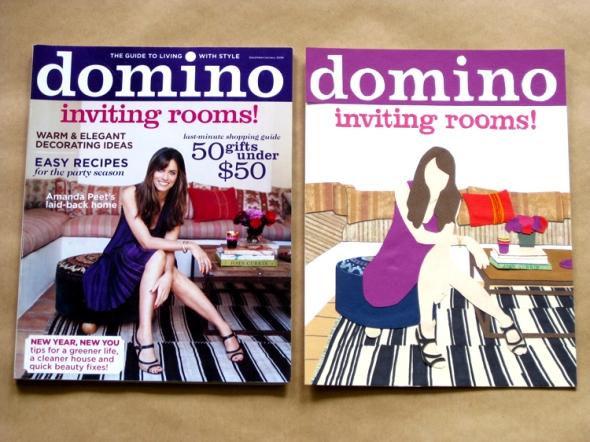 domino magazine paper cuts