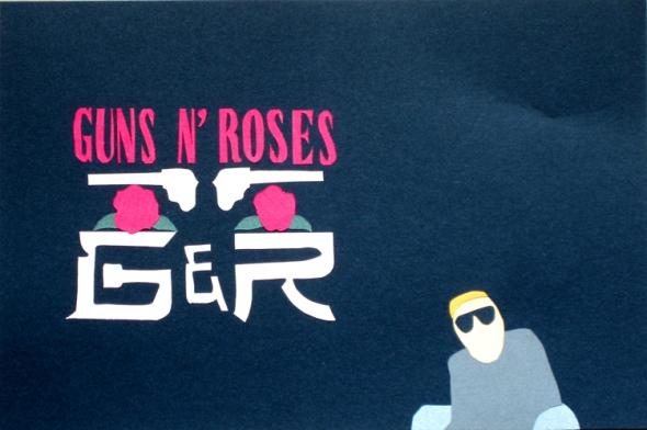 guns n' roses paper cuts