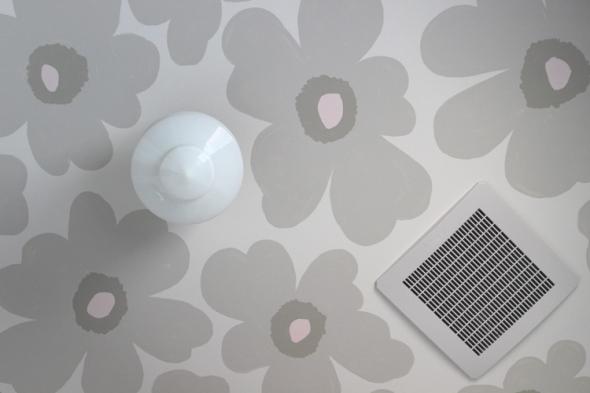 floral ceiling