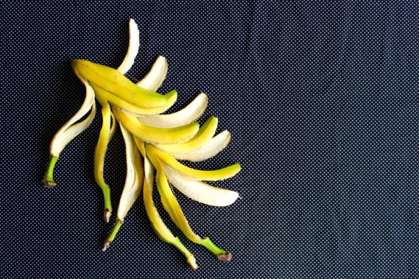 banana polka dots
