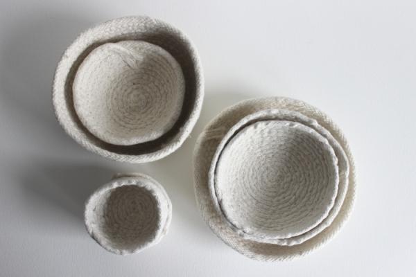 basket sculptures