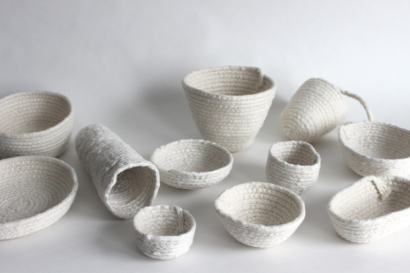 basket sculptures