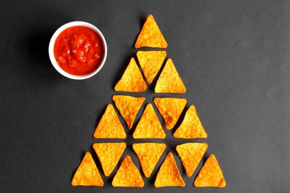 dorito pyramid