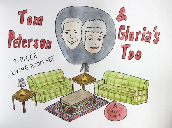 tom peterson and gloria's too