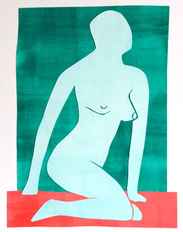 matisse centerfold light green