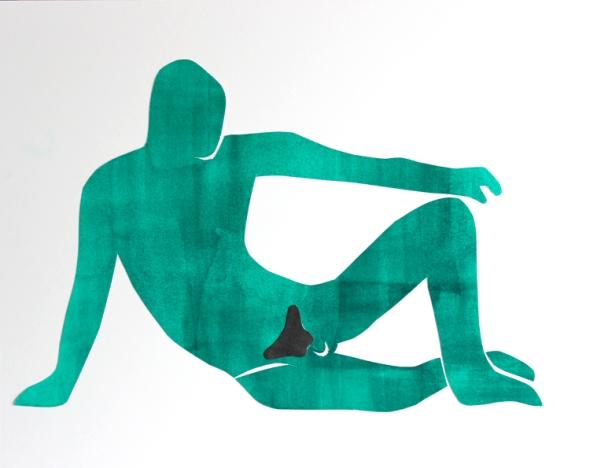 matisse centerfold green