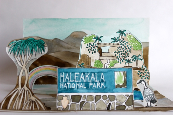 Haleakala mini poster