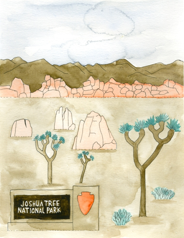 Joshua Tree mini poster