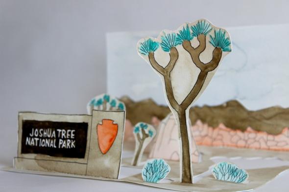 Joshua Tree mini poster