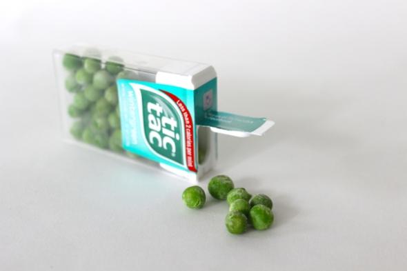 pea tictacs