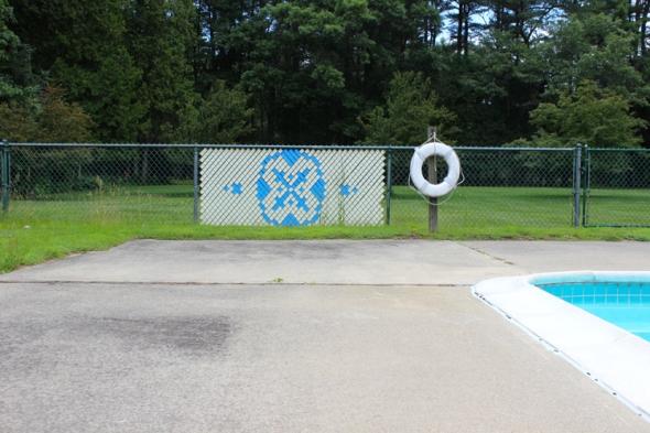 pool patterns life preserver