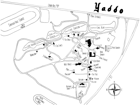 yaddo map