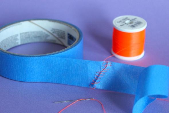 sewn tape